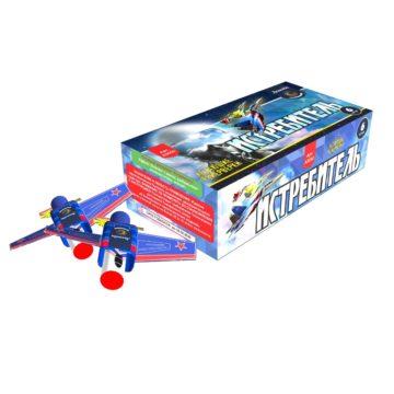 Летающие и наземные фейерверки Легенда Истребитель (A3050)