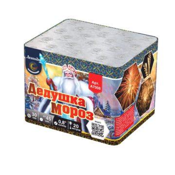 Батарея салютов Легенда Дедушка мороз (A7008)