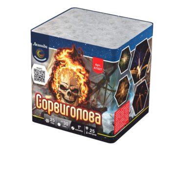 Батарея салютов Легенда Сорвиголова (A7027)