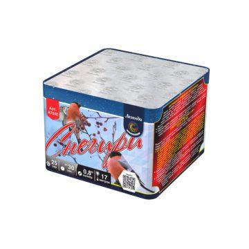 Батарея салютов Легенда Снегири (A7040)