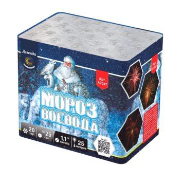 Батарея салютов Легенда Мороз Воевода — модуль (A7047)