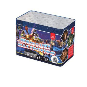 Батарея салютов Легенда Новогоднее настроение — модуль (A7060)