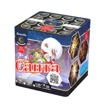 Батарея салютов Легенда Санта (A7175)