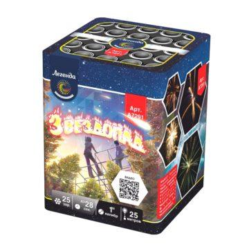 Батарея салютов Легенда Звездопад (A7291)