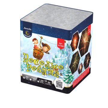 Батарея салютов Легенда Веселые ребята — мягкая упаковка (A7308)
