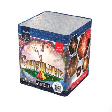 Батарея салютов Легенда Сочельник — мягкая упаковка (A7316)