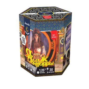 Батарея салютов Легенда Ящик пандоры (A7424)