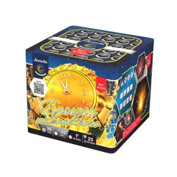 Батарея салютов Легенда Брызги шампанского (A7433)