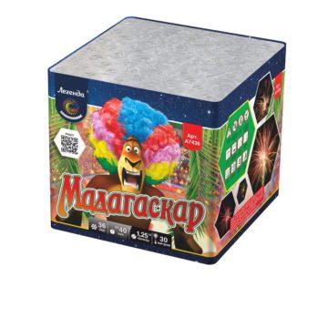 Батарея салютов Легенда Мадагаскар — мягкая упаковка (A7436)