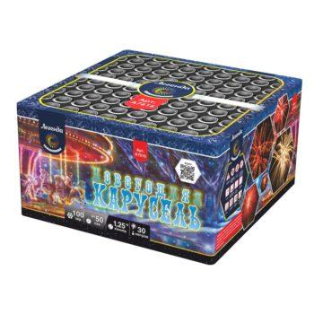Батарея салютов Легенда Новогодняя карусель (A7616)