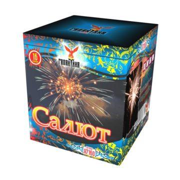 Батареи салютов крупного калибра Галактика Салют A7160