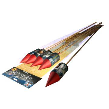 Пиротехнические ракеты Галактика Торнадо A2061